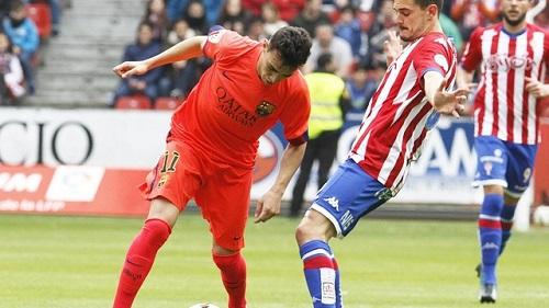 Real Sporting – Barça B: Wciąż tylko punkt (0:0)