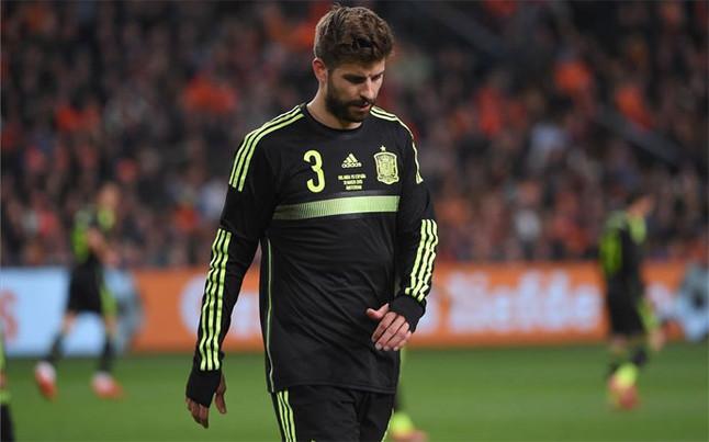 Piqué: Porażka nie była kwestią nastawienia