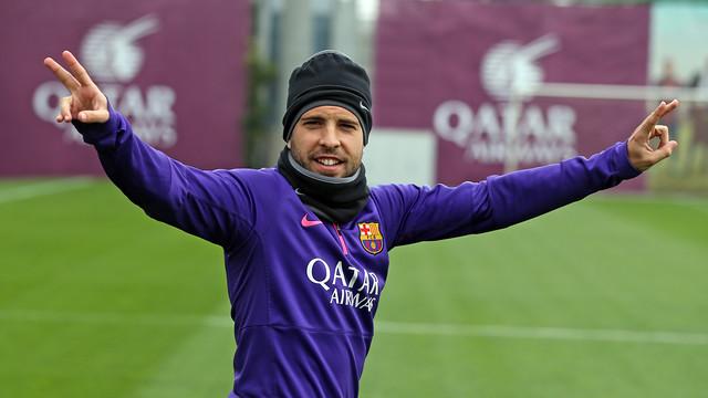 Jordi Alba wraca do treningów z grupą