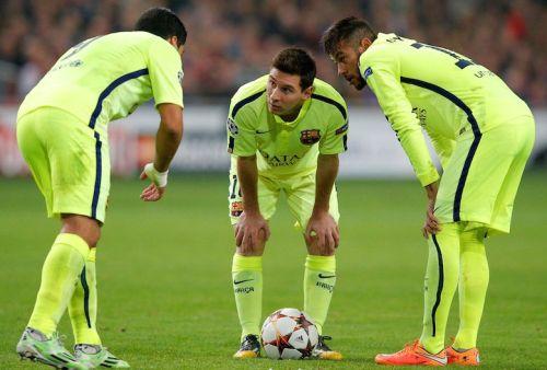 MSN uczestniczą w 75% bramek Barcelony