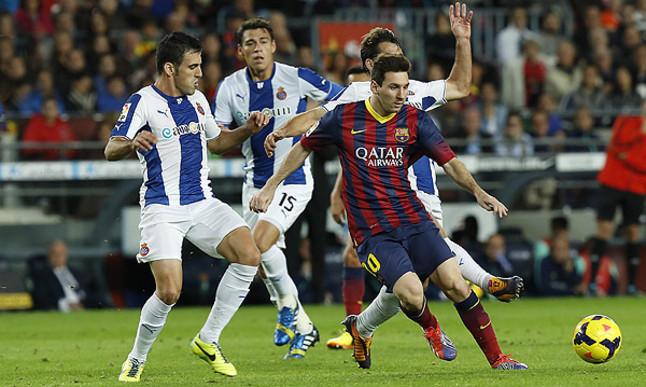 RCD Espanyol – FC Barcelona; Składy