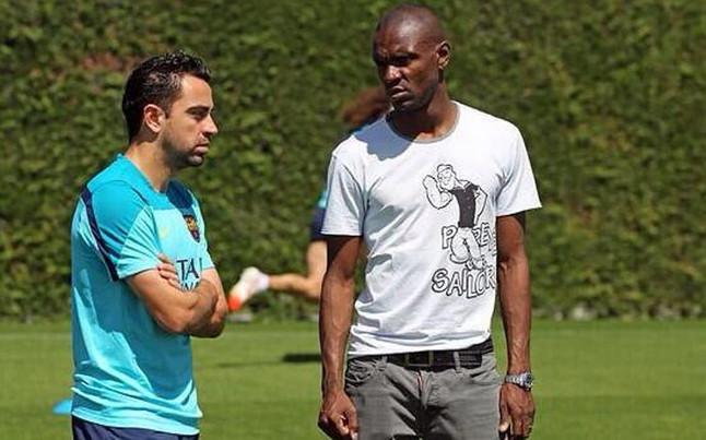Abidal odwiedził Barçę na treningu