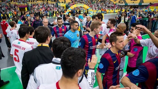Barça druga w UEFA Futsal Cup