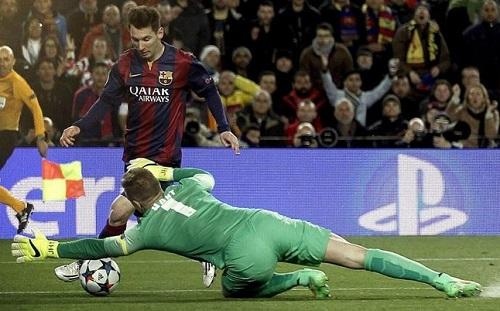 Hart: Messi jest najlepszym piłkarzem w historii