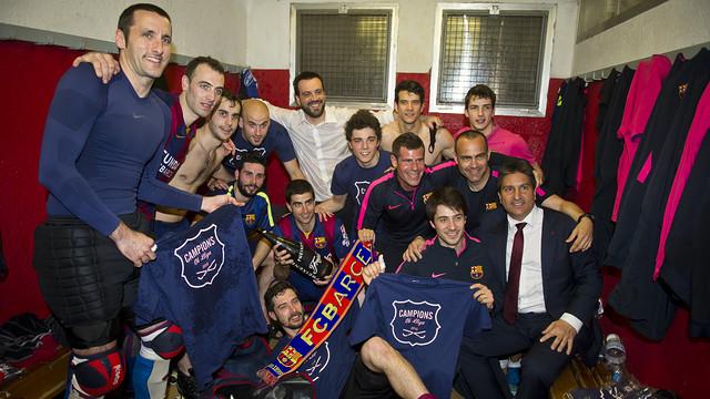 Hokeiści także Mistrzami Hiszpanii!