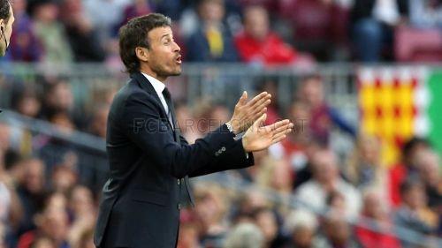 Luis Enrique: Zagraliśmy w najlepszy możliwy sposób
