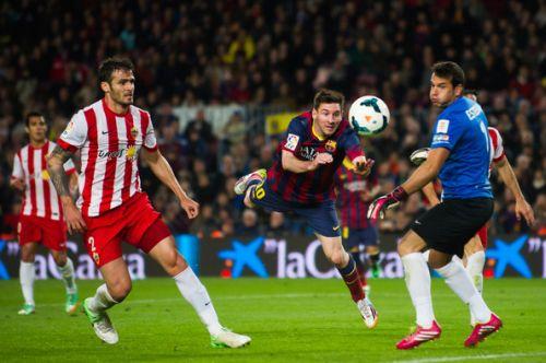 FC Barcelona – UD Almería; Składy