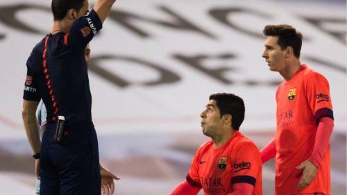 Klub odwoła się od kartki dla Suáreza