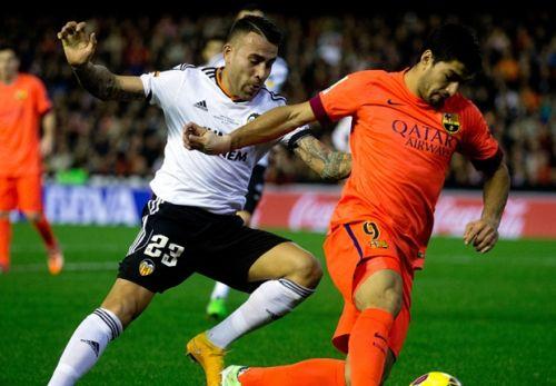 FC Barcelona – Valencia CF; Składy