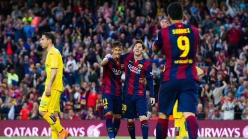 Messi, Suárez, Neymar – rekordowe tridente