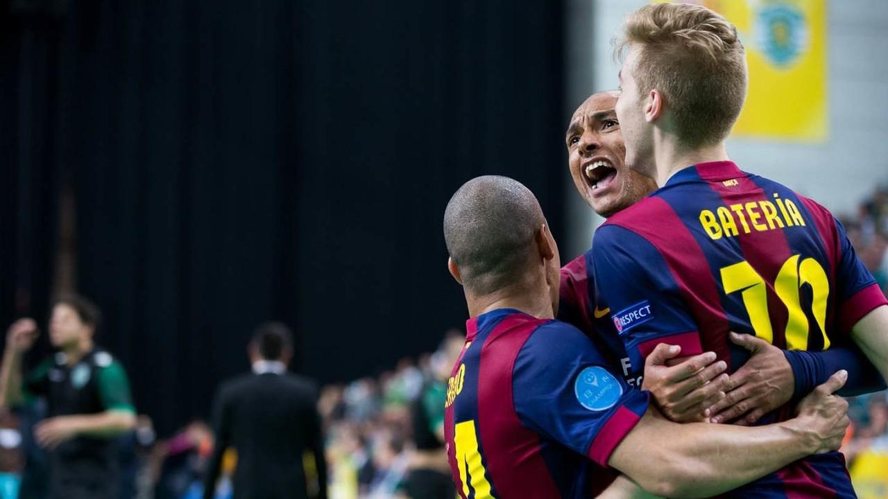 Barça w finale UEFA Futsal Cup!
