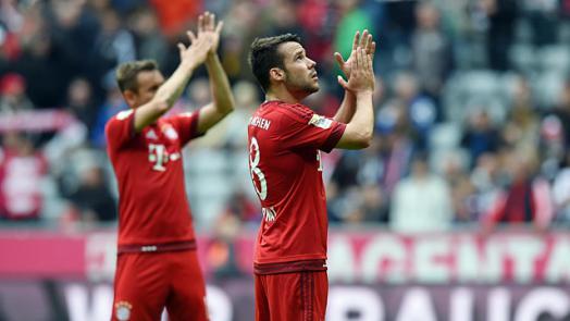Piłkarze Bayernu zamierzają walczyć do końca