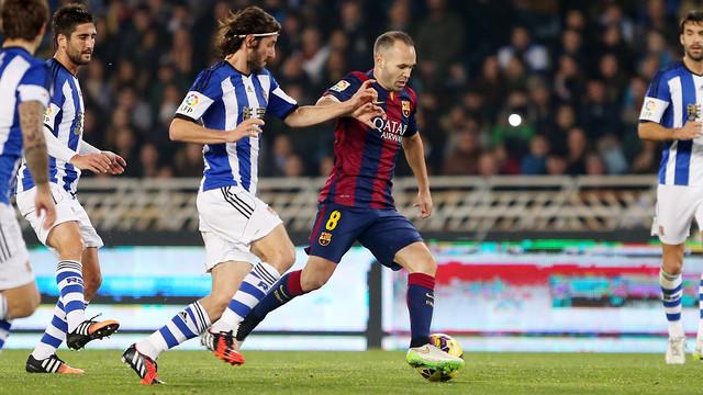 FC Barcelona – Real Sociedad; Składy