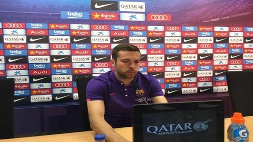 Jordi Alba: Wygranie tych dwóch finałów byłoby niesamowite