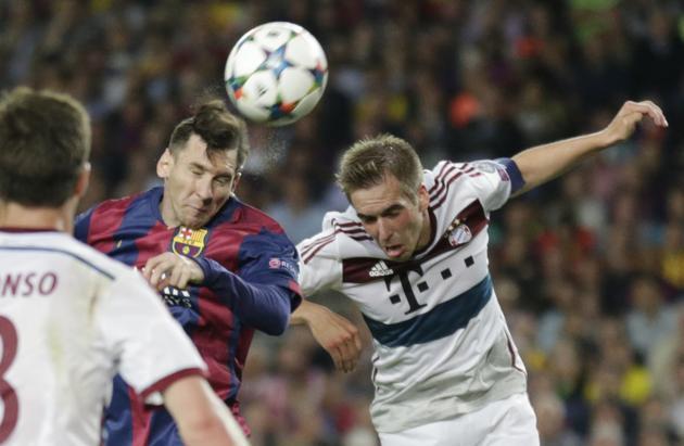 Lahm: Ułatwiliśmy zadanie Barcelonie
