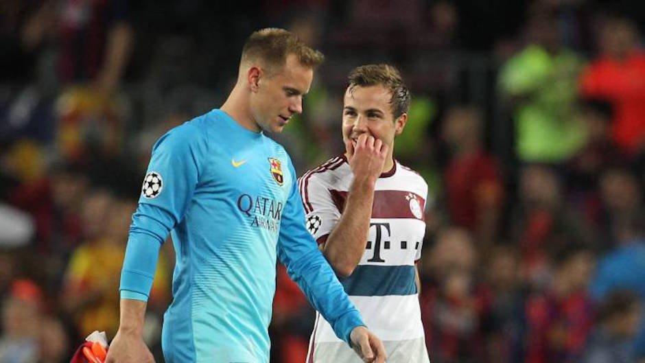 Götze wyjaśnia swoje zachowanie po meczu z Barceloną
