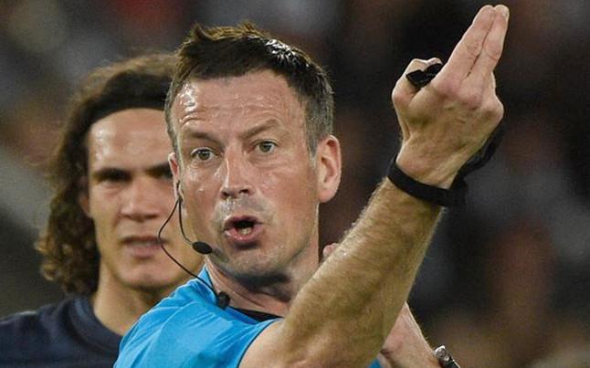 Mark Clattenburg sędzią w meczu z Bayernem