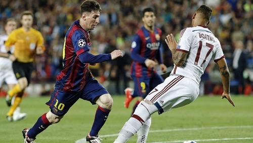 Boateng: Nie można zostawiać Messiego bez opieki