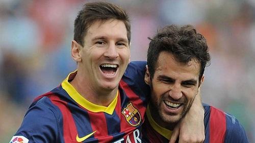 Cesc: Messi jest żywą legendą Barçy