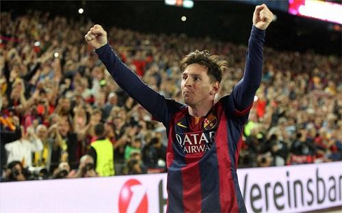 Messi: Zawsze jest fajnie, kiedy skandują twoje imię
