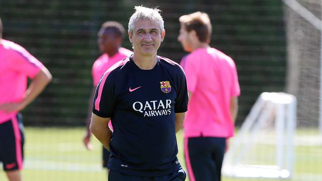 Jordi Vinyals: Skupiamy się wyłącznie na sobotnim meczu