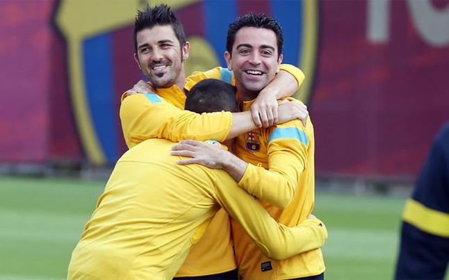 Villa: Xavi jest najlepszym pomocnikiem w historii