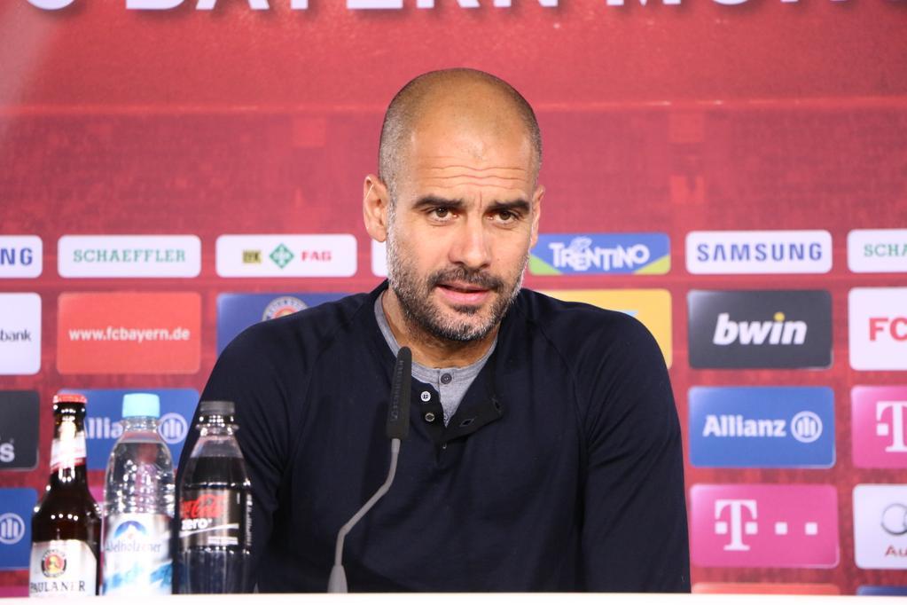 Guardiola nie pojawi się na finale Ligi Mistrzów