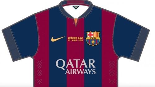 Barça zagra w pamiątkowej koszulce