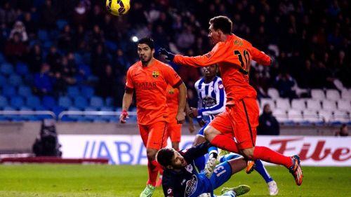 FC Barcelona – Deportivo La Coruña; Składy