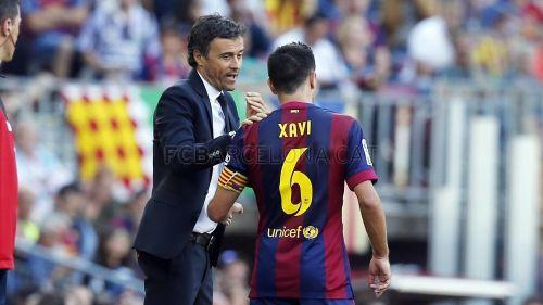 Luis Enrique: Xavi jest jedyny w swoim rodzaju