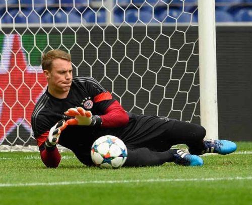 Bayern trenował bez Neuera i Thiago