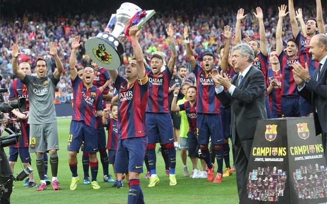 24 tytuły Xaviego w barwach FC Barcelony