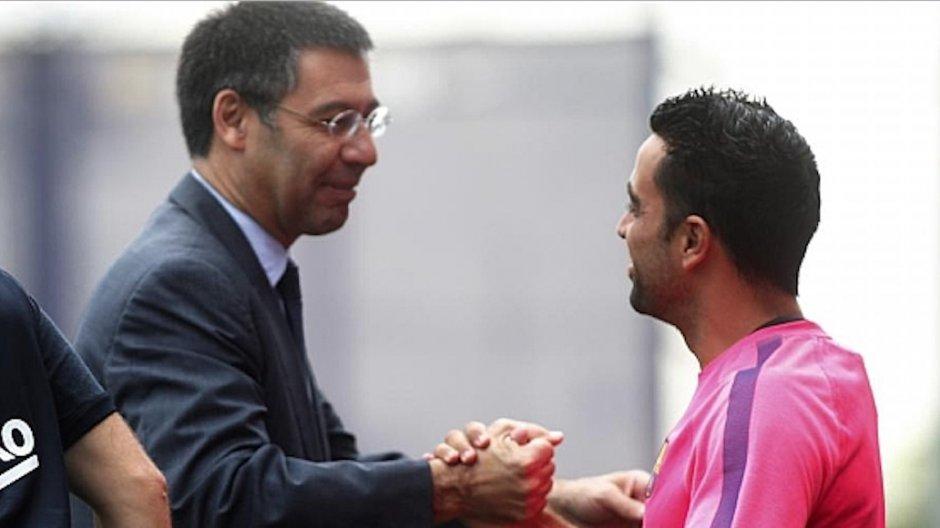 Xavi odrzucił dwuletni kontrakt oferowany przez Barçę