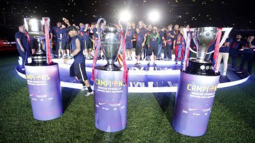 Feta na Camp Nou