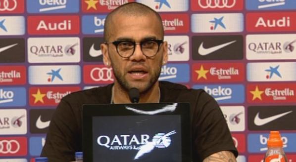 Alves: Jestem w miejscu, w którym czuję się kochany