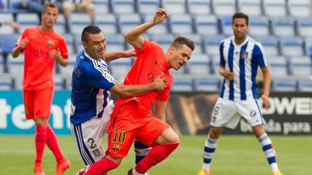 Recreativo – Barça B: Porażka na koniec sezonu (2:0)