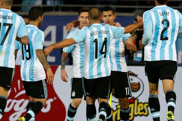 Argentyna remisuje z Paragwajem