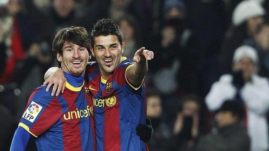 Villa: 70% moich bramek padło dzięki Messiemu