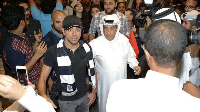 Xavi został zaprezentowany jako zawodnik Al Sadd