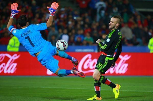 Chile remisuje z Meksykiem