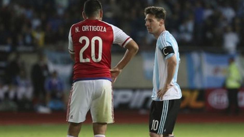 Ortigoza: Powiedziałem Messiemu, że jest najlepszy