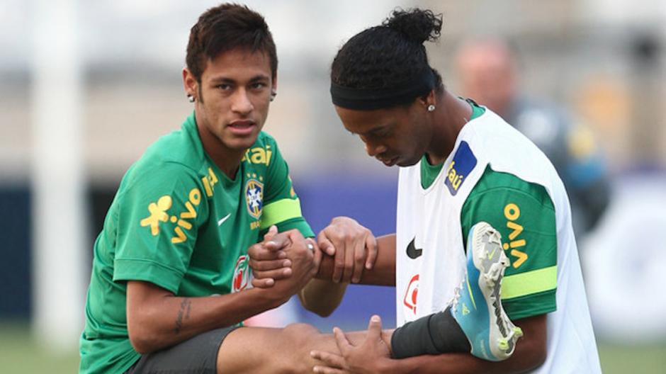 Ronaldinho: Neymar będzie najlepszym na świecie