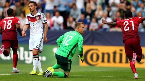 Bolesna porażka Niemców w półfinale