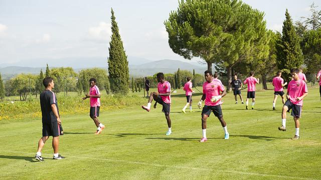 Barça B wraca do pracy 13 lipca
