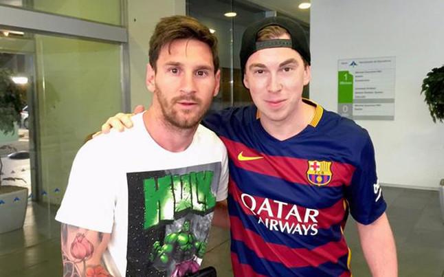 Messi jest już w Barcelonie