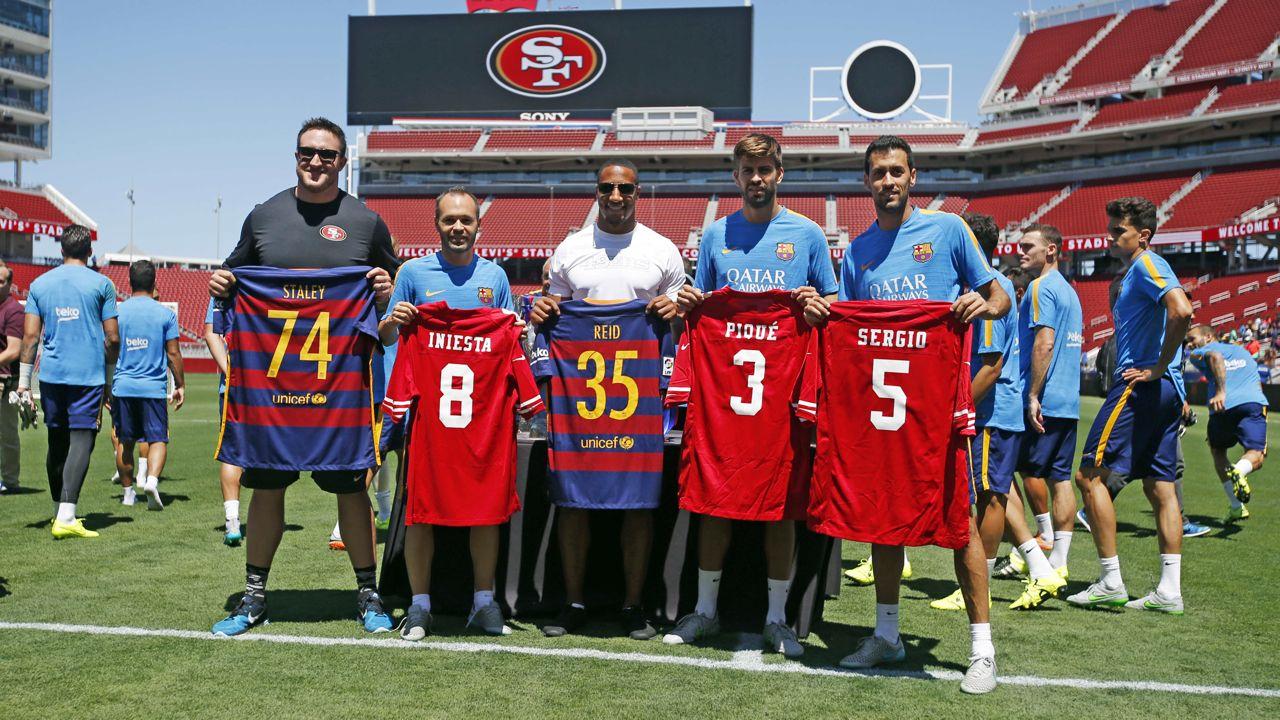 Piłkarze spotkali się z San Francisco 49ers