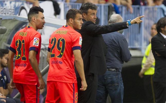 Luis Enrique musi wybrać między Munirem a Sandro