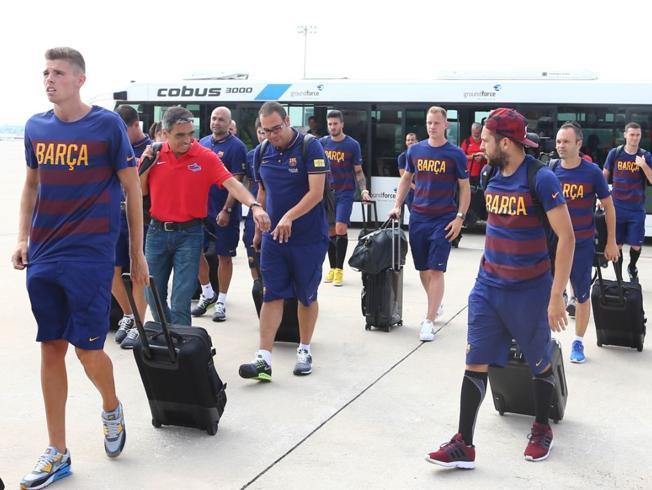 Barça wraca do domu