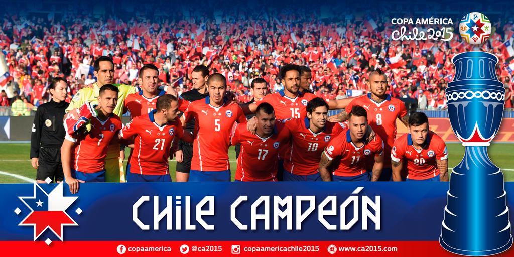 Chile wygrywa Copa América!