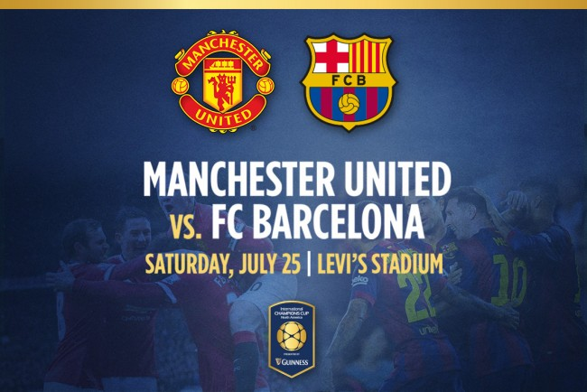 FC Barcelona – Manchester United (składy)